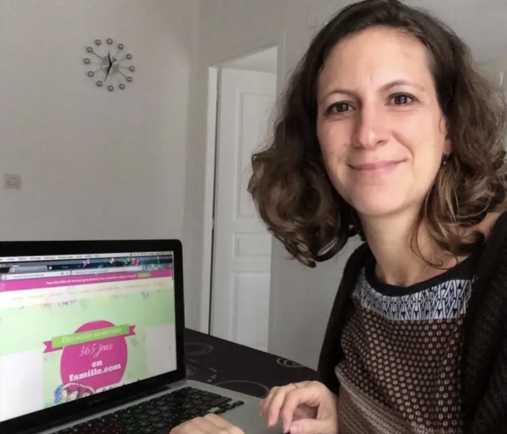Violaine Gorges : Fondatrice du blog 365 jeux en famille / la parentalité ludique