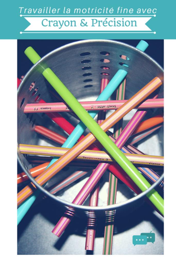 Tutoriel / DIY / Crayon & Précision