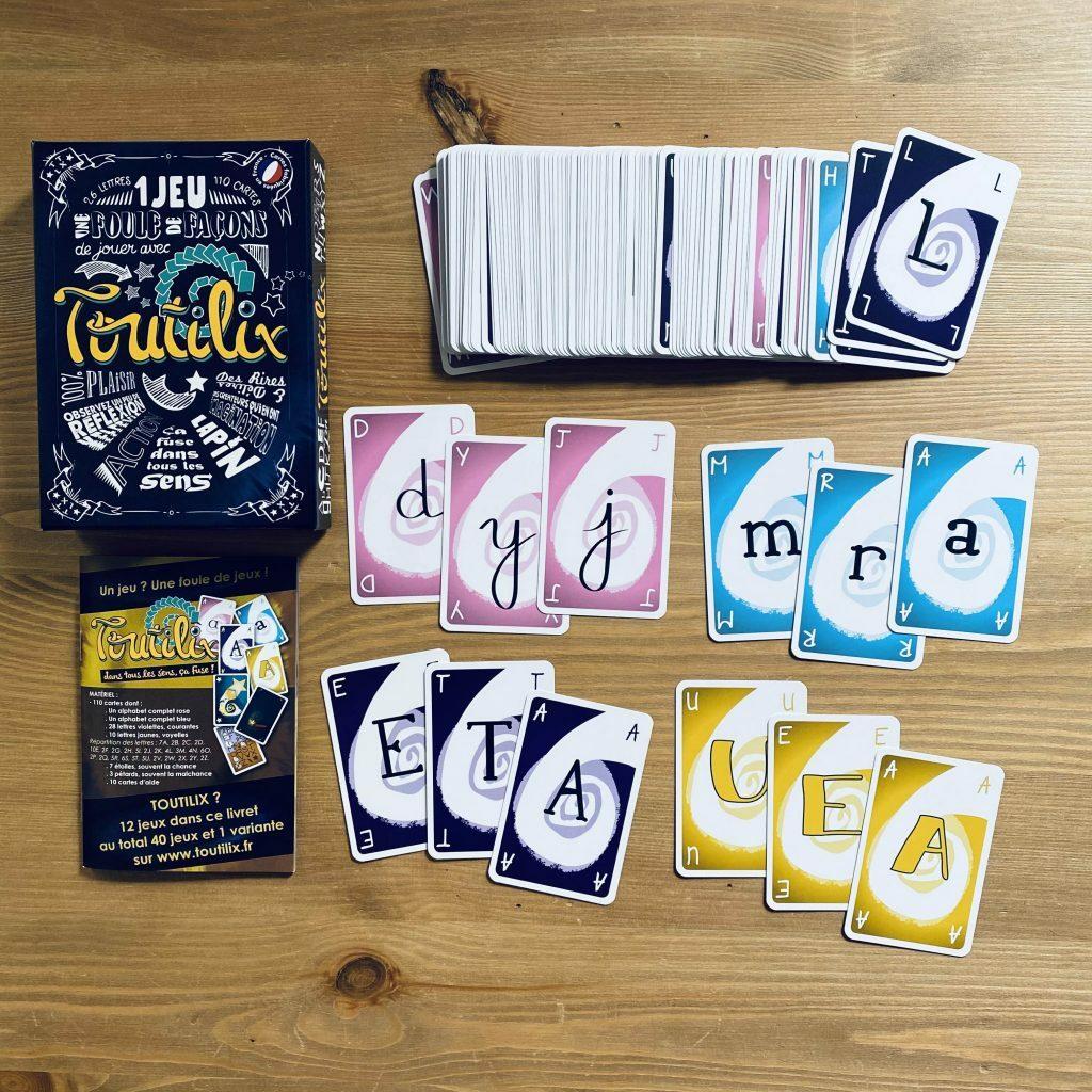 Toutillix, jeu de lettres