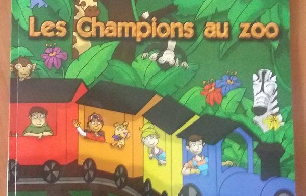 Les Champions au zoo
