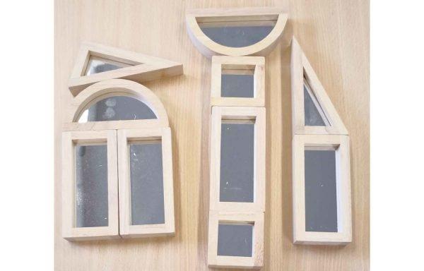 Blocs de construction miroir : éveil sensoriel
