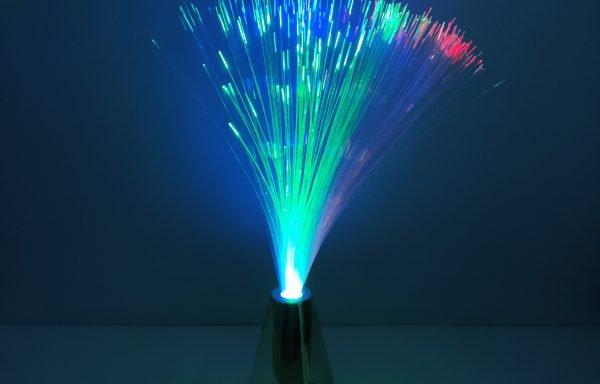 Lampe fibre optique