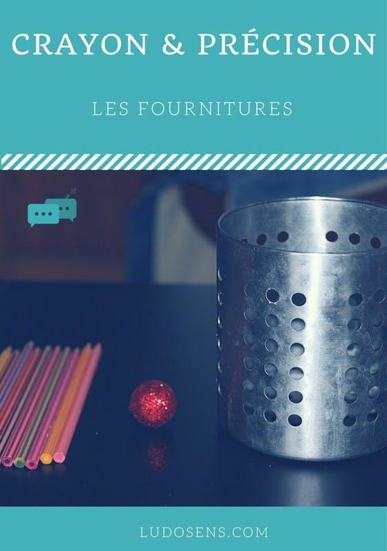 Tutoriel / DIY / Crayon & Précision / les fournitures