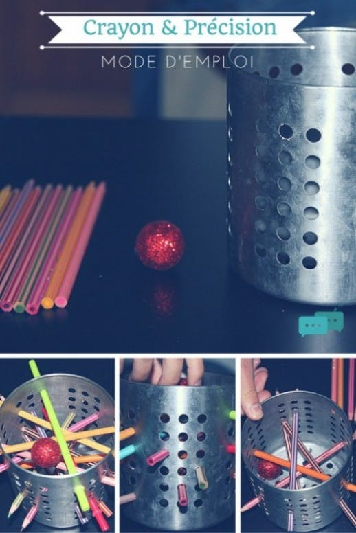 Tutoriel / DIY / Crayon & Précision / mode d'emploi