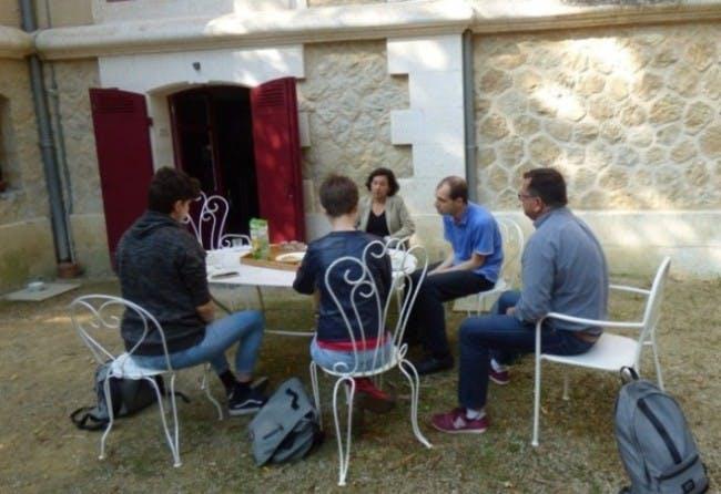 Visite du chalet de Mauriac