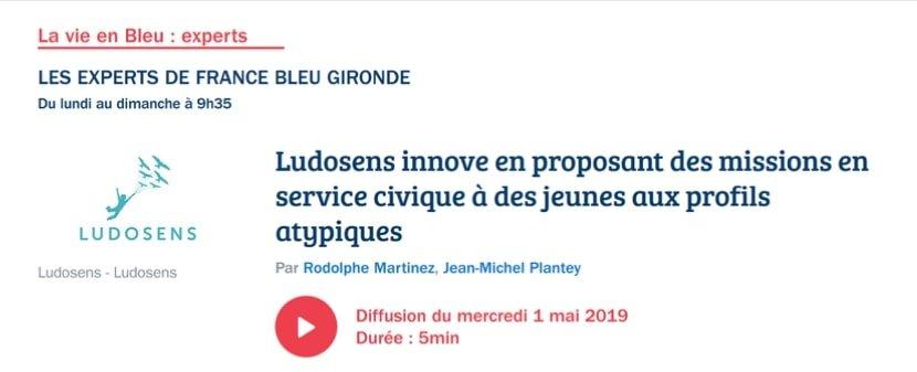 Article de presse France Bleu