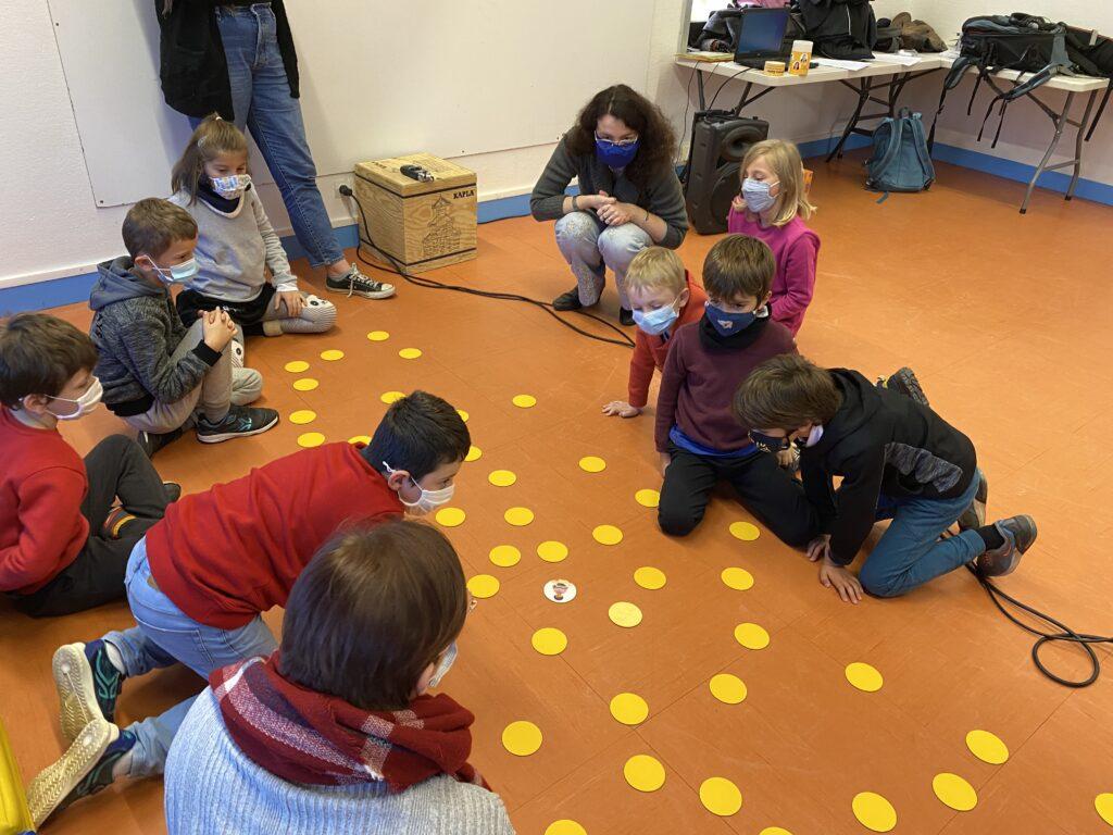 jeux sensoriel avec les enfants